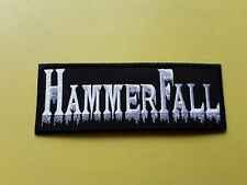 Hammerfall Patch Embroidered Iron On Or Sew On Badge