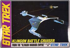 AMT Star Trek Klingon Battle Cruiser model kit  1/650  ON SALE!!!