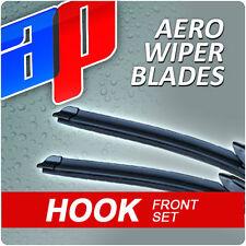 "21"" + 19"" Aero V Front Retro Wiper Blades Windscreen Flat Upgrade V1"