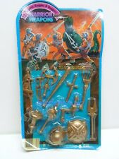 Dragons Knights & Daggers Warrior Weapons Imperial 1984 GOLD ACCESSORIES Sealed