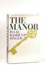 First Edition The Manor - Isaac Bashevis Singer Farrar, Straus & Giroux Hardcove