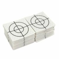 100pcs Prism Target Reflector Sheet Total Station Electrical Tunnel Survey Tapes