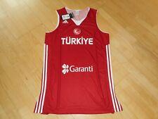 adidas Basketball Trikot TÜRKEI GR. XL NEU + ETIKETT