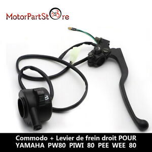 Throttle Housing On/Off Control Kill Switch+Brake Lever For YAMAHA PY80 PW80