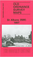 Old Ordnance Survey Map St Albans North West 1897 - Hertfordshire Sheet 34.07