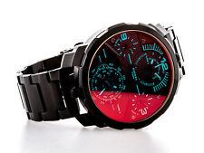 Diesel caballeros-reloj pulsera dz7362 machinus acero inoxidable