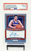 2019 Prizm Rookie Penmanship AUTO Suns CAMERON JOHNSON Rookie Card PSA 9 / Pop 6
