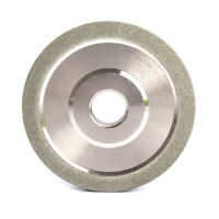 "78mm Diamond Grinding Wheel 3"" 100# Grit Abrasive Disc for Grinder Carbide Metal"