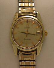 Vintage Men's OMEGA Seamaster Gold Filled Automatic Wrist Watch Swiss Made