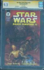 Star Wars Dark Empire II 5 CGC SS 9.2 Dave Dorman 1st Solo Twins Jacen Jaina