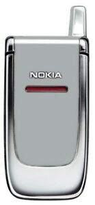 RETRO NOKIA 6060 SIMPLE FLIP MOBILE PHONE-UNLOCKED WITH NEW CHARGAR AND WARRANTY