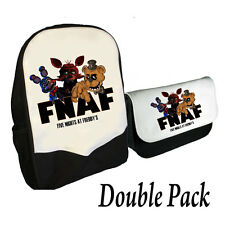 CINQ NIGHTS AT FREDDY'S SAC À DOS ET PENCILCASE DOUBLE PACK FNAF Gang (BMS)