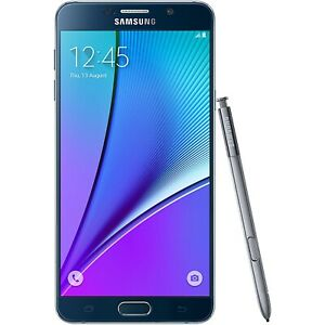 New Samsung Galaxy Note 5 SM-N920 32 GB - Black Verizon Smartphone