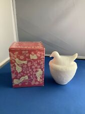 Avon Nesting Dove Candle Holder. No Candle. Vintage