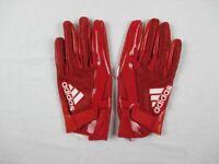 NEW adidas - Men'sRed Poly Football Gloves (3XL)