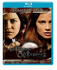 BLOODRAYNE 1 & 2 DAMPIR BOX Vampir Films de culte Bloodrain BLU-RAY Collection