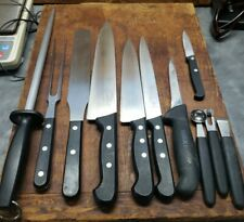 F. Dick Knife Sharpening Steel Fork etc Culinary Chef lot  Germany Made