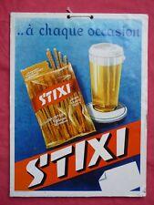 carton pub ancien STIXI Arthur BAUSTERT PUTTLINGEN bretzel bière bistrot
