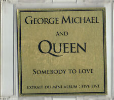 George MICHAEL & QUEEN -  Somebody To Love (promo CD France)