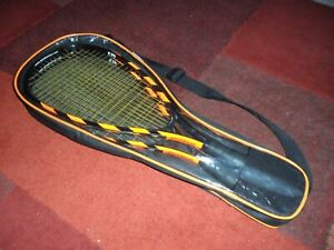 Set of 2 Speedminton S70 Badminton Aluminum Rackets With Case