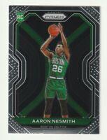 2020-21 Panini Prizm Basketball Aaron Nesmith Boston Celtics RC #282 Base Rookie