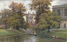 Artist Drawn, St. John's Chapel, CAMBRIDGE, Cambridgeshire - A. R. Q.