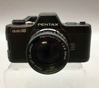 Pentax Auto 110 SLR Film Camera with 1:2:8 50mmlens vintage For Parts H17
