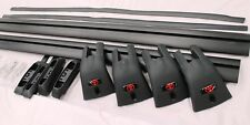TOYOTA LANDCRUISER 100 SERIES ROOF RACKS 2 BAR AERO SET JAN 98 - AUG 07 GENUINE