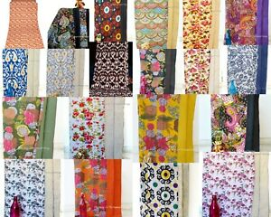 New Indian Handmade:-Cotton Kantha Blanket Bedspreads Quilt Twin Bed Cover-Decor