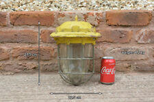 Vintage industrial light old factory metal outside lamp light - FREE DELIVERY