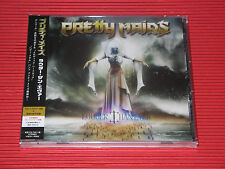 PRETTY MAIDS LOUDER THAN EVER with Bonus Track   JAPAN CD