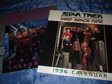 STAR TREK  Kalender  1996 , 2 Stck., USA  Original , FILM  Fanartikel , ovp. //C