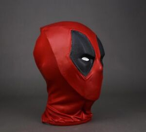 Brand New Cattoys Wearable Full Size Deadpool Helmet Mask Movie Prop Cosplay