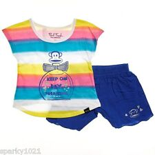 Paul Frank  2 Piece Day Dreaming Shorts Set Girl's Size 24 Months NWT