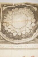 FONTENELLE ENTRETIENS SUR LA PLURALITE DES MONDES 1708 GRAVURE ASTRONOMIE