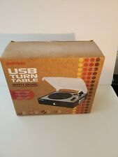 Audiology 3 Speed USB Turntable w/ Built in Speakers (New in Box)