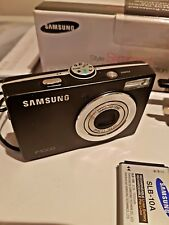 Samsung P1000 10.2MP Digital Camera - Black BOXED IN EXCELLENT CONDITION