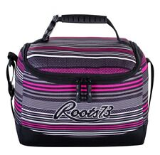 Roots 73 Lunch Box Insulated Cooler  For Girls Kids     Pink Stripes