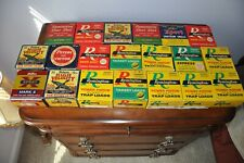 Vintage Empty Ammo Boxes Remington, Peters, Western.