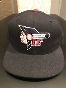 Idaho Falls Braves New Era 5950 Fitted Hat Cap Size 7 Made in USA MiLB