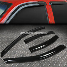 FOR 00-06 LINCOLN LS 4DR SMOKE TINT WINDOW VISOR/WIND DEFLECTOR VENT RAIN GUARD
