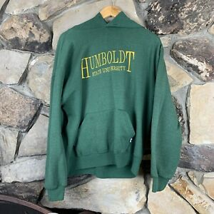 Vintage Humboldt University Embroidered Russell Athletic College 90s California