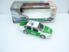 1:18 DICKIE TOYS OPEL VECTRA LICHT & SOUND RC POLIZEI SELTEN RARE NEW OVP