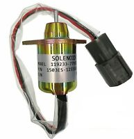 Fuel Shutdown Diesel Shut Off Solenoid 11923377932 For Yanmar John Deere Tractor