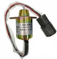 Fuel Shutdown Diesel Shut Off Solenoid 11923377932 For Yanmar John Deere Tractor