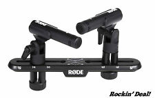 Rode M5 Condenser Microphone Matched Pair M5MP M5-MP w/ SB20 STEREO BAR