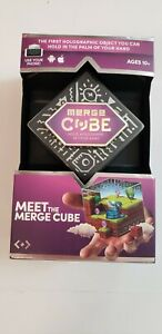 Merge Cube VR Virtual Game Holograms IPhone Android 10+ BRAND NEW