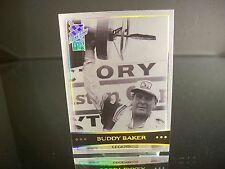 Parallel Buddy Baker Press Pass VIP Explosive 2003 Card #X43