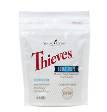 YOUNG LIVING THIEVES COUGH DROPS 30 count NEW STOCK & SEALED