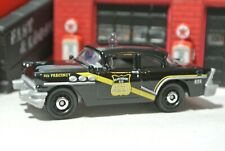 Matchbox '56 Buick Century Police - Black - Loose - 1:64 - Coffee Cruisers